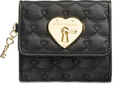 Betsey Johnson Boxed Swag Heart French Wallet, Only At Macy's