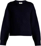 Acne Studios Java crew-neck ribbed-knit sweater