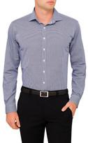 Van Heusen Spot Dobby Check Euro Fit Shirt