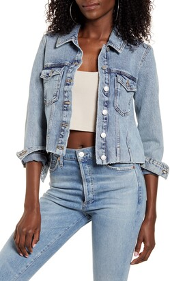 Vero Moda Mikky Crop Denim Jacket