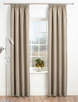 Marks and Spencer Faux Silk Pencil Pleat Black-Out Curtains