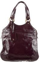 Saint Laurent Patent Leather Tribute Tote