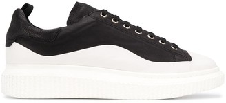 Officine Creative Paneled Sneakers