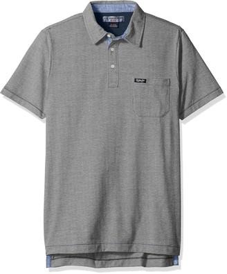 U.S. Polo Assn. Men's Jacquard Cotton Polo Shirt