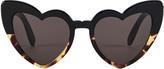 Saint Laurent Havana Loulou Sunglasses