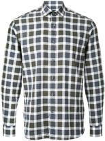 Kent & Curwen checked long sleeve shirt