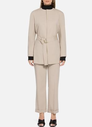 St. John Stretch Tropical Wool Jacket