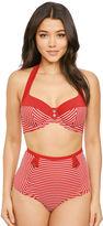 Panache Britt Stripe Halter Bikini Top