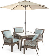 OUTDOOR OASIS Outdoor OasisTM Latigo 5pc Square Dining Set