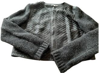 Paule Ka Black Leather Knitwear for Women