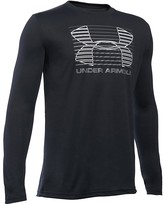 Under Armour Boys' Breakthrough Logo Long Sleeve Tee - Sizes S-XL