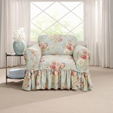 Sure Fit Waverly Ballad Bouquet Chair Slipcover