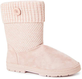 Gold Toe Goldtoe GoldToe Women's Casual boots BLUSH - Blush Button-Accent Ankle Boot - Women