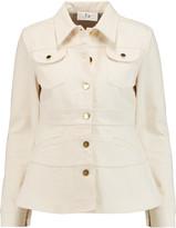 Co Fluted cotton-canvas jacket