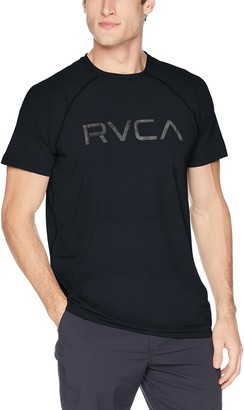 RVCA Men's Micro MESH Short Sleeve T-Shirt