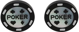 Paul Smith Poker Chip cufflinks