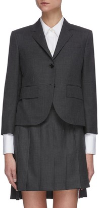 Thom Browne Classic single breast wool blazer