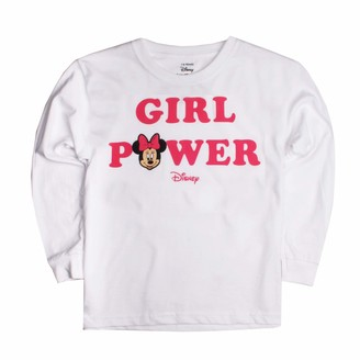 Disney Girl's Minnie Mouse Power Long Sleeve Top