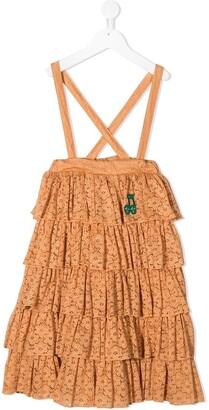 Mini Rodini Lace Frill Tiered Dress