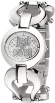 Just Cavalli Women's Steel Bracelet & Case Quartz -Tone Dial Analog Watch r7253109501
