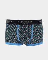 Ted Baker Printed cotton boxer shorts