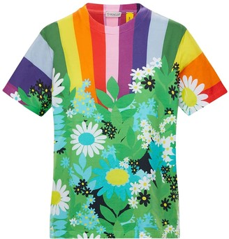 MONCLER GENIUS Richard Quinn Printed Jersey T-shirt