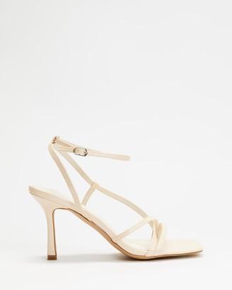 Dazie - Women's Neutrals Heeled Sandals - Marie Heels - Size 5 at The Iconic