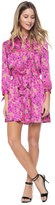 Juicy Couture Outlet - ALEXANDRIA FLORAL SHIRT DRESS