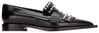 Alexander McQueen Kiltie Studded Loafers