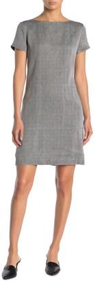 Theory Patch Pocket Linen Blend Dress