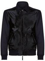 Emporio Armani Haircalf Front Caban Jacket