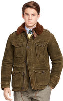 Polo Ralph Lauren Shearling Combat Jacket