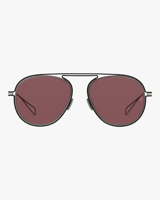 Rag & Bone Round Metal Aviator Sunglasses
