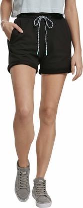 Urban Classics Women's Shorts Ladies Beach Terry Hose