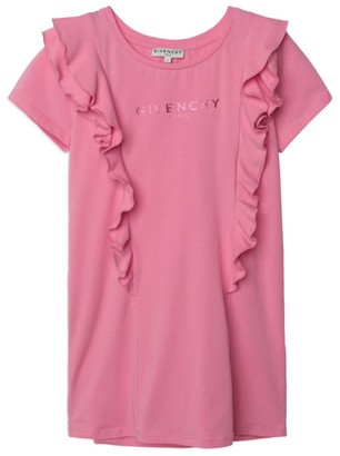 Givenchy Kids Ruffle-Detail T-Shirt Dress (4-14 Years)