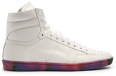 Saint Laurent Court Classic High-top Leather Trainers