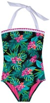 Gossip Girl Girl's Tropical Escape One-Piece Swimsuit