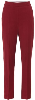 Roksanda Colwyn high-rise wool crApe pants