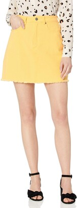 The Fifth Label Women's Lillian Classic Short Denim Mini Skirt