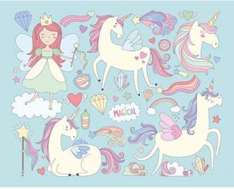Mural Ohpopsi Unicorn Magic Wall