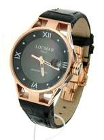 Locman Women's 34mm Leather Band Titanium Case Quartz Watch 0521v14-Rrmk00pk