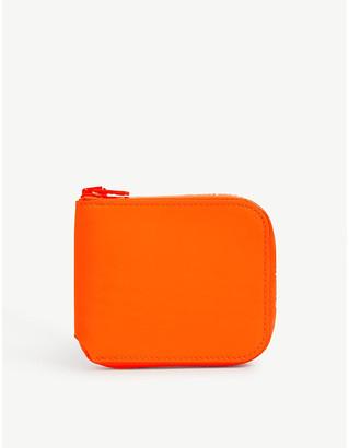 Acne Studios Neon leather wallet