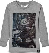 Molo Rollercoaster Print Rickey Long Sleeve T-Shirt
