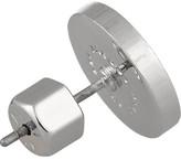 Marc by Marc Jacobs Enameled silver-tone earrings