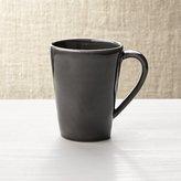 Crate & Barrel Marin Dark Grey Mug