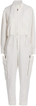 Stella McCartney Alessia Compact Cotton Jumpsuit