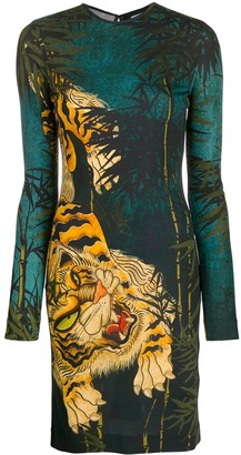 DSQUARED2 Japanese print dress