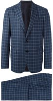 Etro checked two-piece suit