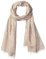 Gucci Women's Patterned Scarf, Light Brown