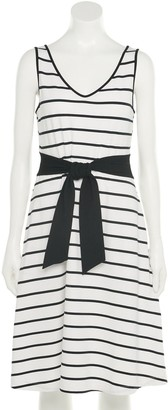 Apt. 9 Women's Cinch-Waist Fit & Flare Dress